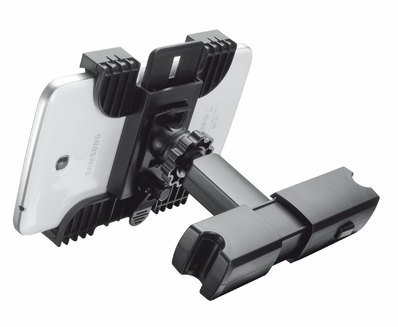 Trust supporto per il poggiatesta dell 39 auto per tablet for Supporto auto tablet 7 pollici