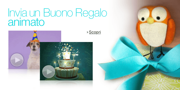 Buoni Regalo animati Amazon.it