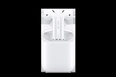 Apple AirPods con custodia di ricarica (Ultimo modello)