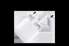 Apple AirPods con custodia di ricarica wireless (Ultimo modello)