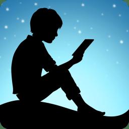 Immagine del logo dell'app Kindle