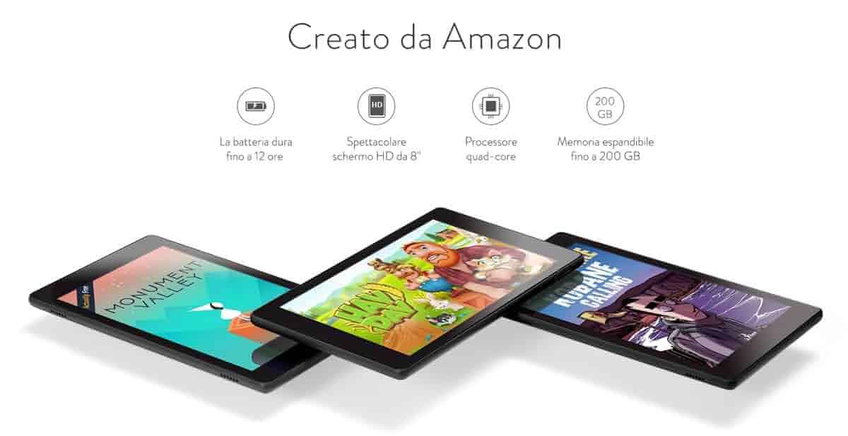 Creato da Amazon