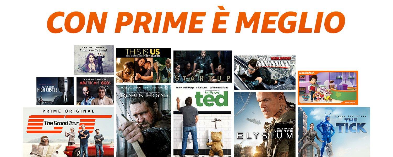 1f50f6befc8151 Gli iscritti ad Amazon Prime hanno accesso senza costi aggiuntivi ai  contenuti Amazon Prime Video, tra cui migliaia di film e serie TV.