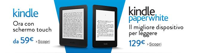 Kindle e Kindle Paperwhite