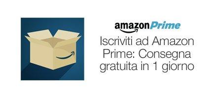 Consegna in 1 GIORNO per i clienti Amazon Prime