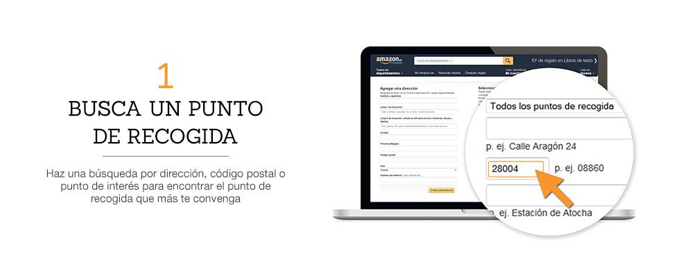Recogida correos amazon