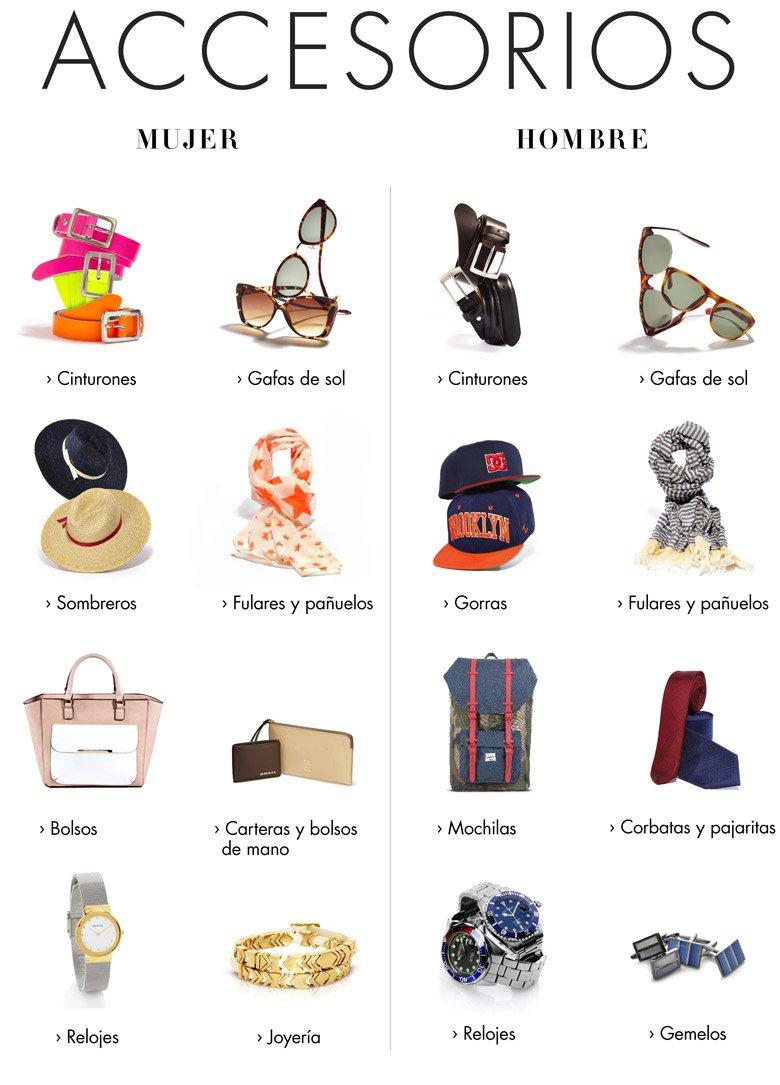 Accesorios de ropa for Marcas de accesorios de cocina
