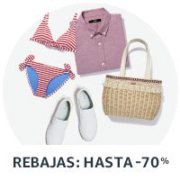 Amazon Moda: Rebajas hasta -70%