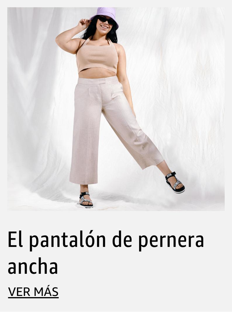 El pantalón de pernera ancha
