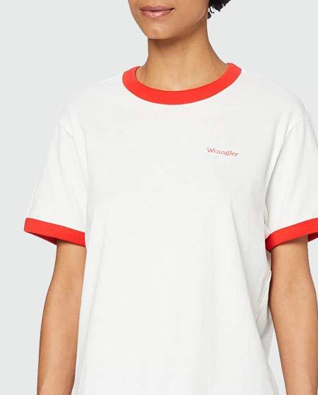 Wrangler Women's Relaxed Ringer T-Shirt