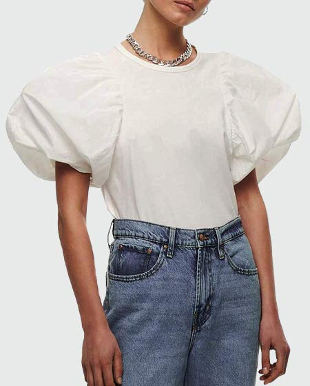 ONLY Women's Puff T-Shirt