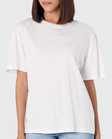 The Drop Short Sleeve Drop Shoulder Jersey T-Shirt