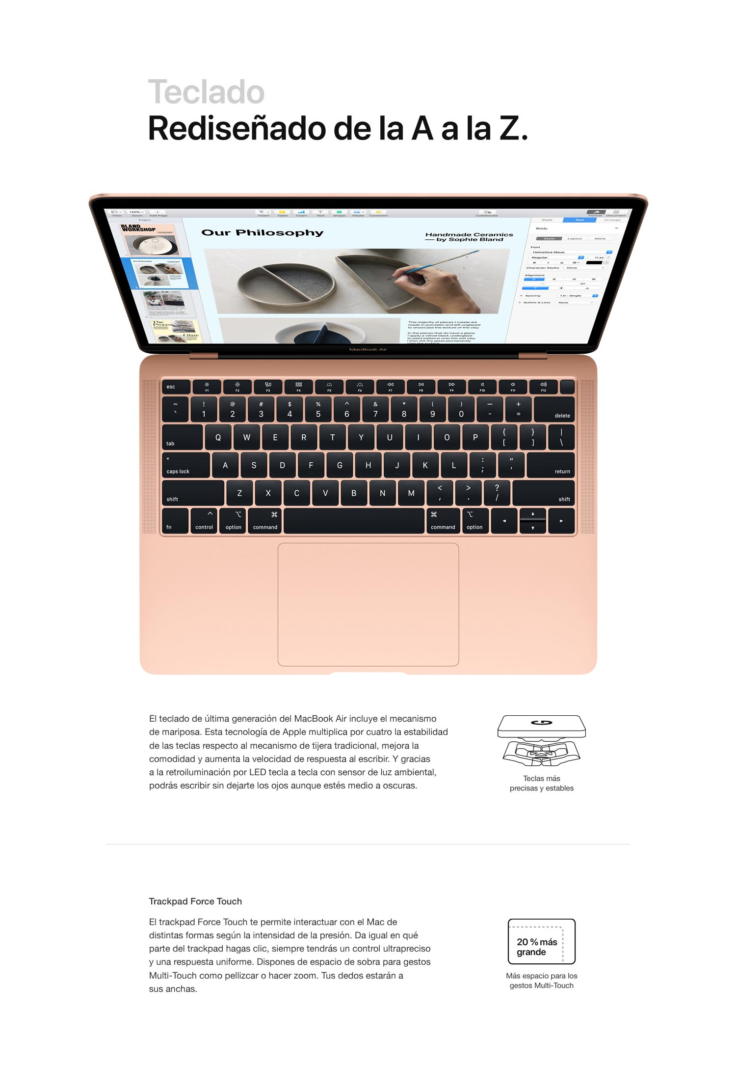 a39f0558f00 Apple MacBook Air (de 13 pulgadas, Intel Core i5 de doble núcleo a 1 ...