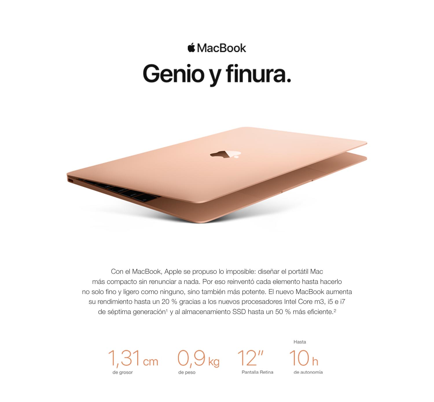 Compare Productos de Apple MacBook