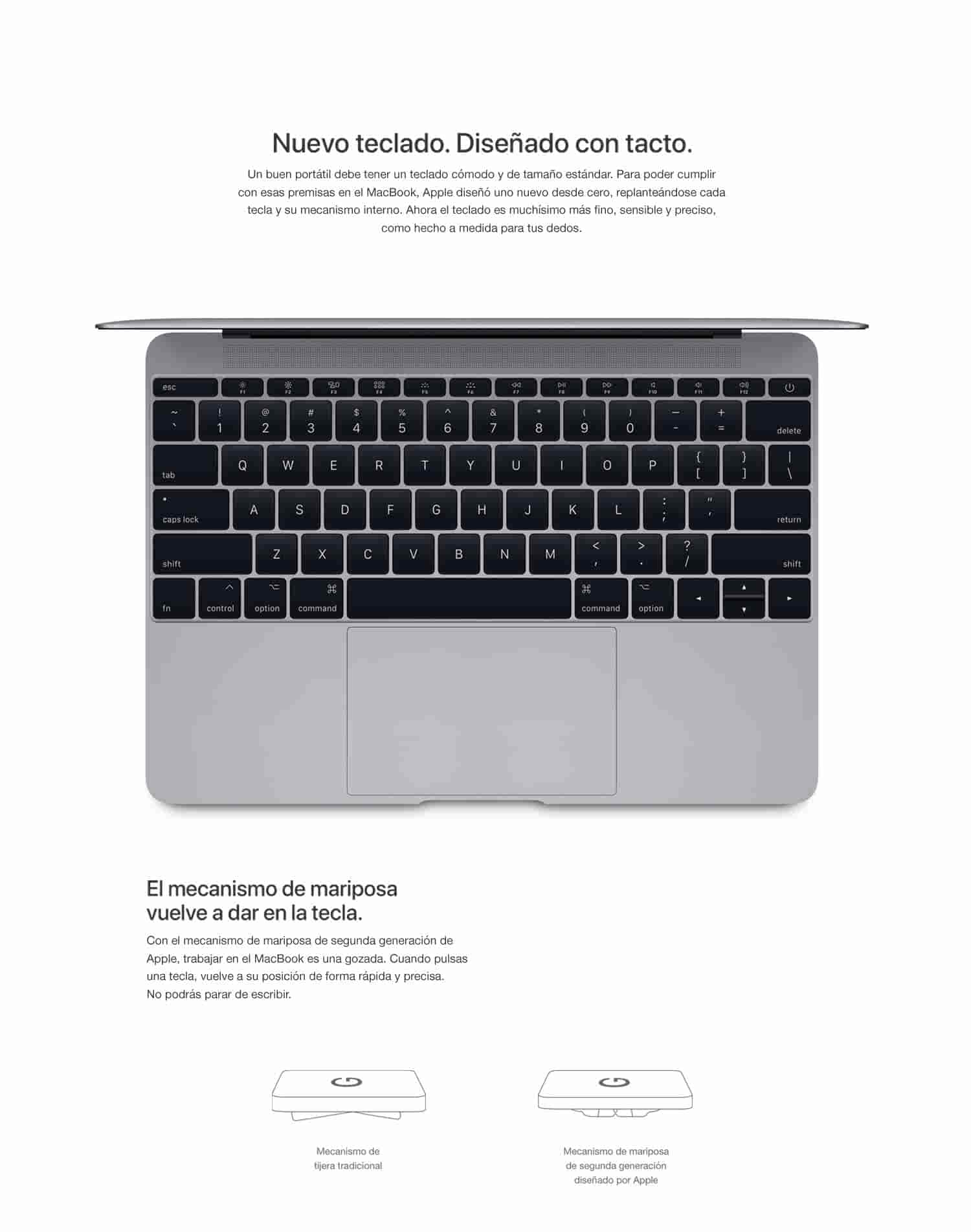 Apple MacBook - Ordenador portátil de 12