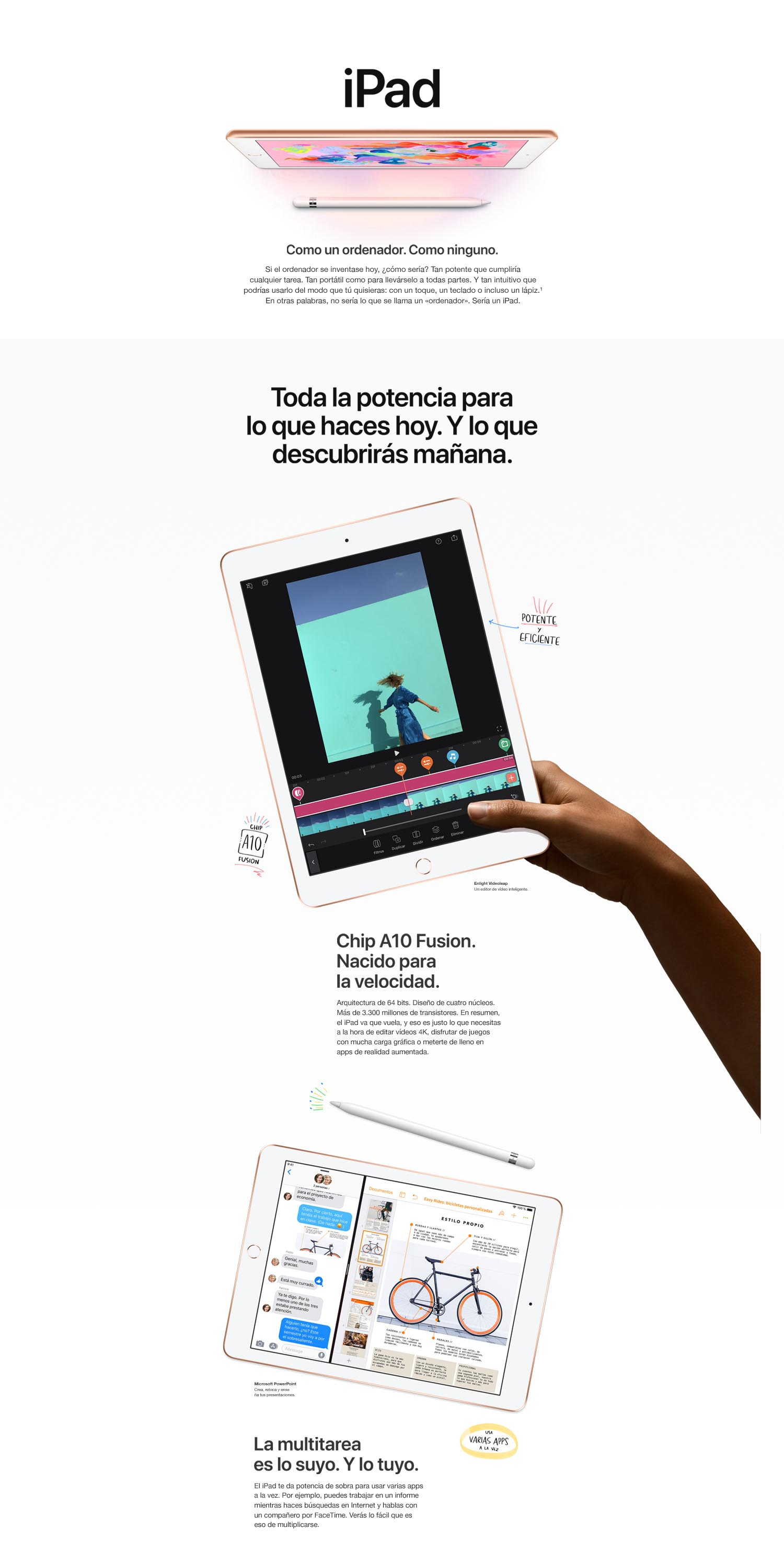 Compare Productos de Apple iPad
