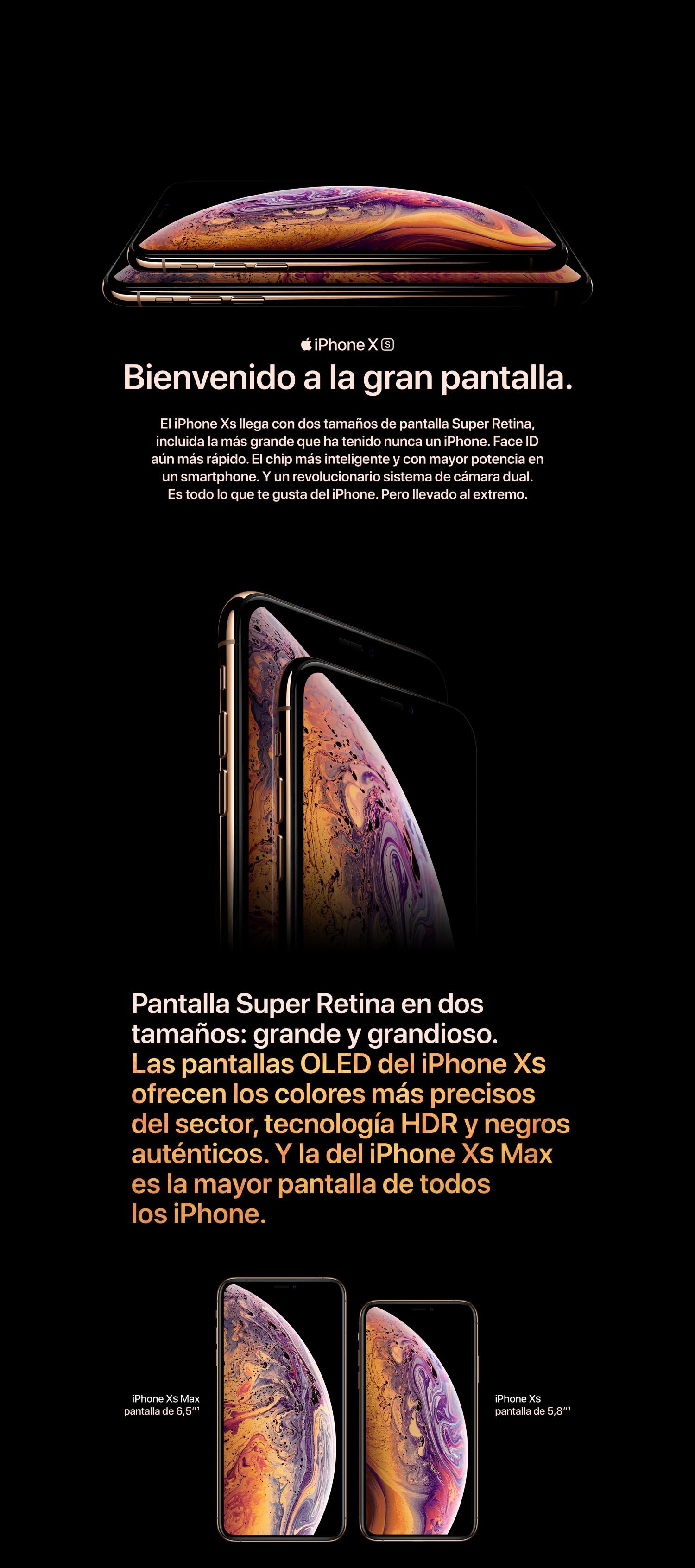 28065df6ada Apple iPhone XS (de 64GB) - Gris espacial: Apple: Amazon.es