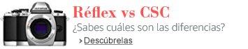 Réflex vs CSC