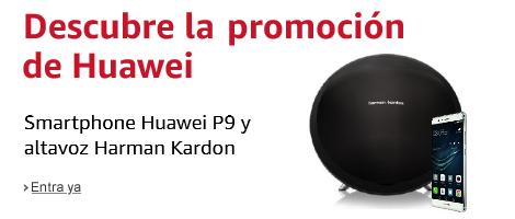 Huawei P9 y altavoz Harman Kardon