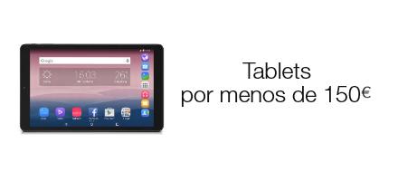 Tablets por menos de 150 euros