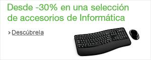 -30% en accesorios de Inform�tica