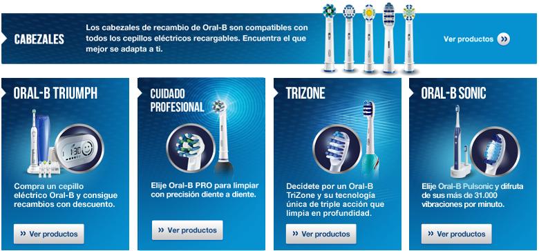 Selecciona tu cepillo Oral-B