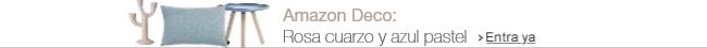 Amazon Deco: Rosa cuarzo y azul pastel