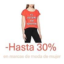 Hasta -30% en marcas de moda de mujer
