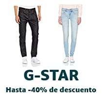 Hasta -40% en G-Star