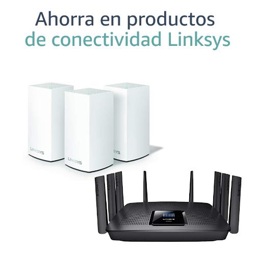 Ahorra en productos de conectividad Linksys