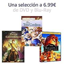 Selección de DVD y Blu-Ray a 6.99€