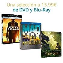 Selección de DVD y Blu-Ray a 15.99€