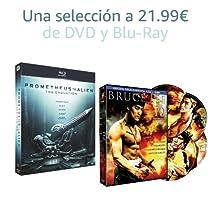 Selección de DVD y Blu-Ray a 21.99€
