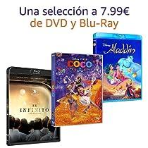 Selección de DVD y Blu-Ray a 7.99€
