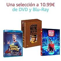 Selección de DVD y Blu-Ray a 10.99€