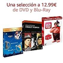 Selección de DVD y Blu-Ray a 12.99€