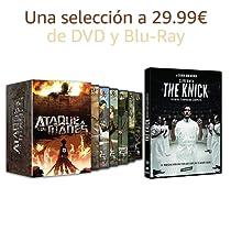 Selección de DVD y Blu-Ray a 29.99€
