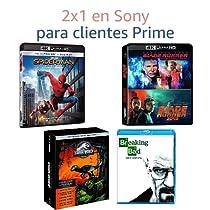 2x1 en películas Sony para Clientes Prime