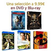 Selección de DVD y Blu-Ray a 9.99€