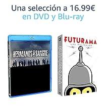 Selección de DVD y Blu-Ray a 16.99€
