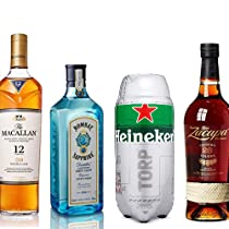 Hasta -25% en marcas como Macallan, Zacapa o Bombay Sapphire