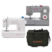 Singer: Hasta -25% en máquinas de coser y en funda