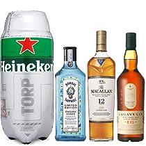 Hasta -25% en Bebidas Espirituosas y Cervezas en marcas como: Macallan, Brugal, Bombay o Heineken