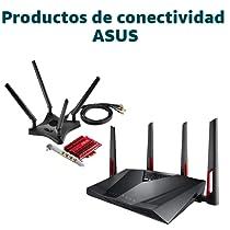 Ahorra en productos de conectividad Asus