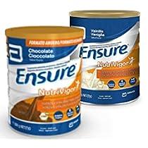 Descubre Ensure Nutrivigor chocolate o vainilla, complemento alimenticio con proteínas, vitaminas, minerales y CaHMB