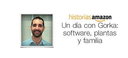 Un día con Gorka: software, plantas y familia