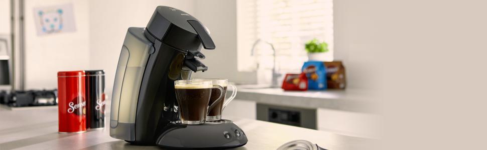 Philips Cafetera de monodosis de café HD7818/22 HD7818/22-Senseo ...