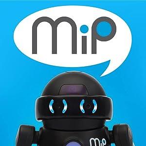 wow wee robot mip color negro 825. Black Bedroom Furniture Sets. Home Design Ideas