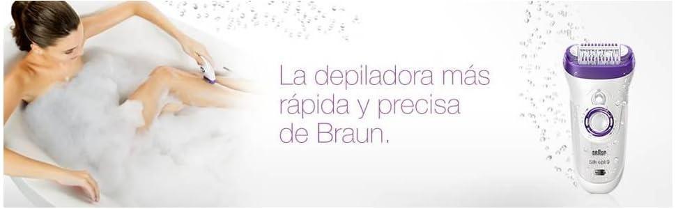 Depiladora Braun Silk-épil 9
