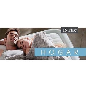 Intex 64424 - Colchón hinchable, 152 x 203 x 42 cm: Amazon.es: Hogar